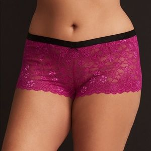 NWT Torrid Size 6 lace panty
